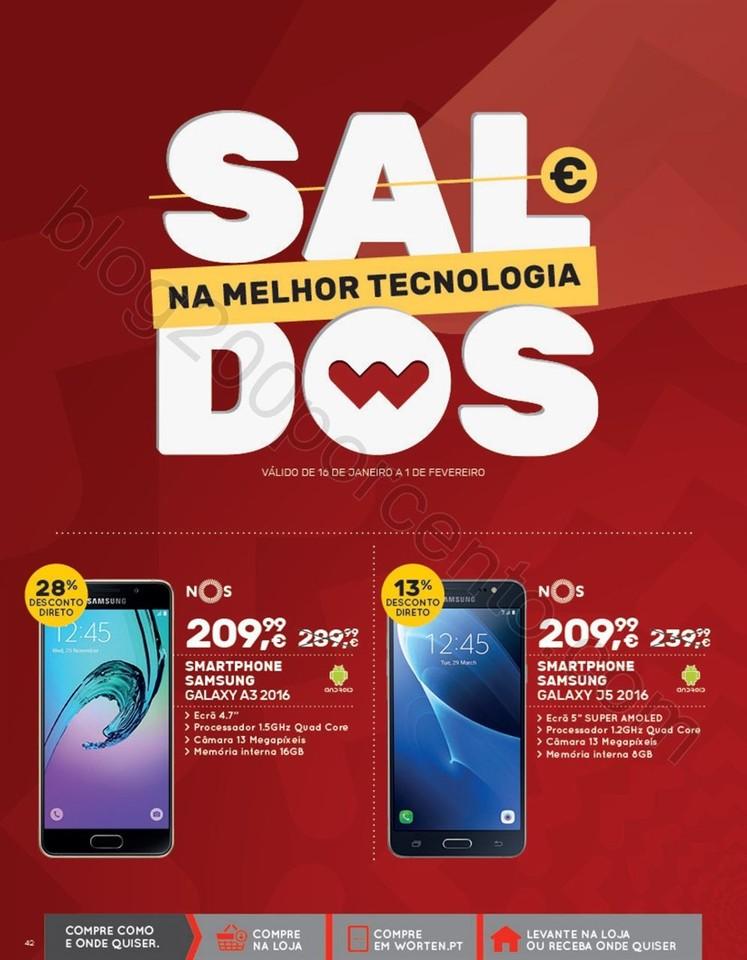 Novo Folheto WORTEN Mobile promoções até 8 feve