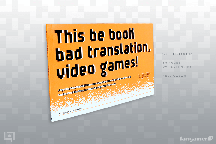 Capa do livro This Be Book of Bad Translation, Video Games!