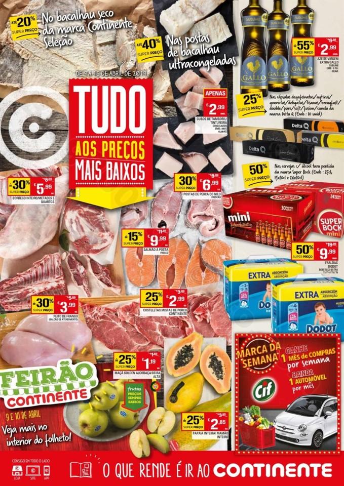 Antevisão Folheto CONTINENTE Promoções 9 a 15 a