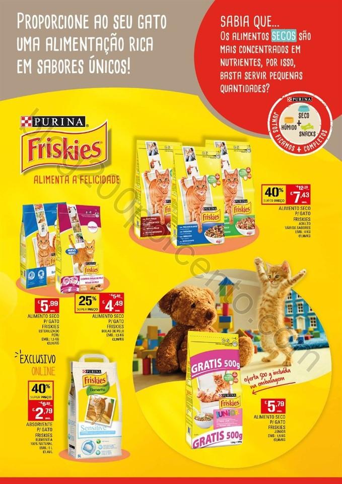 Antevisão Folheto Extra CONTINENTE Pets promoçõ
