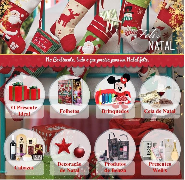 Catalogo de Natal | CONTINENTE | Já ONLINE