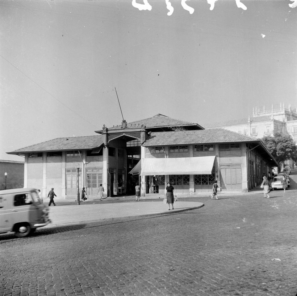 Mercado de Santa Clara, 1967, foto de Vasco Gouvei