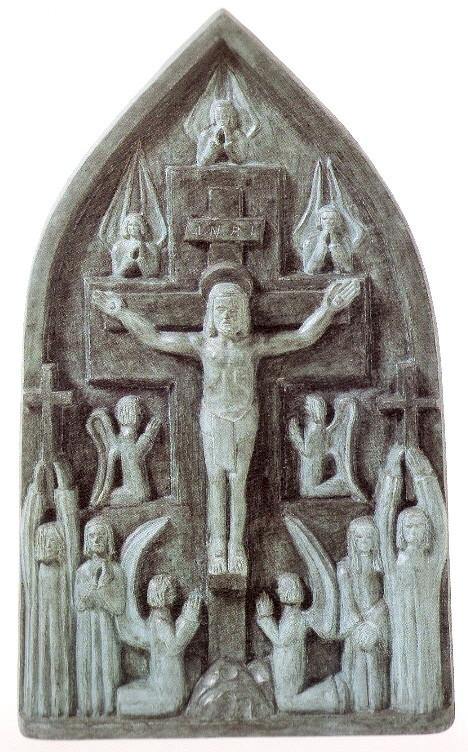 1-E293-40-15 (Altar pequeno - bronze, 142x87x13 cm