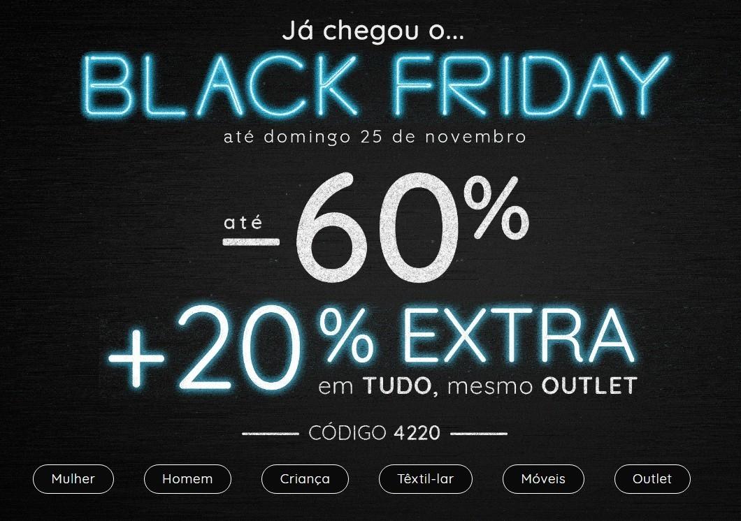 653d08248c ÚLTIMA HORA Black Friday LA REDOUTE +20% extra em todo o site - Blog ...