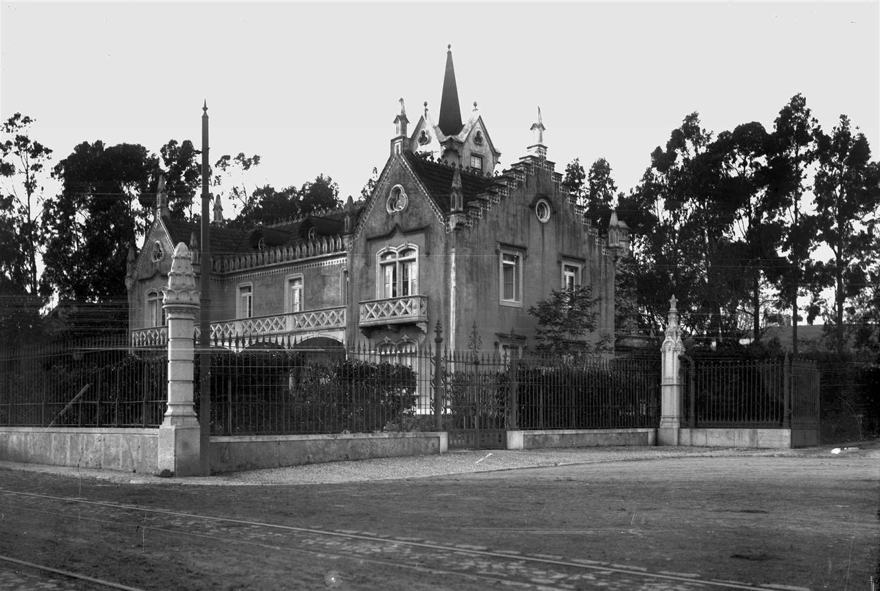 Palacete do provedor da Casa Pia, 1900, foto de Pa