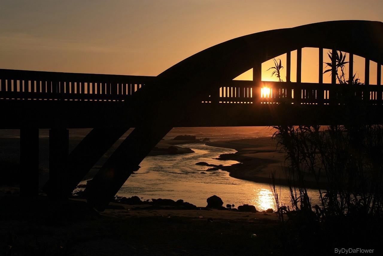 A ponte do rio Onda