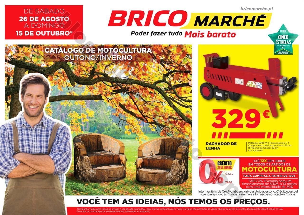 Novo Folheto BRICOMARCHÉ promoções até 15 outu