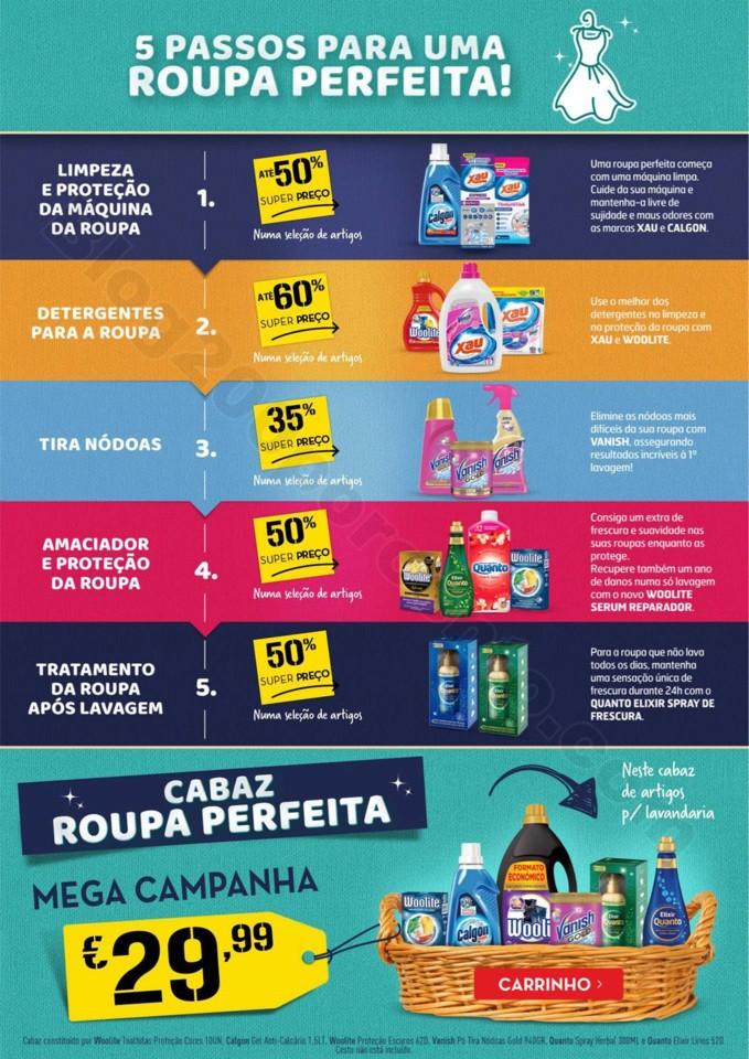 Antevisão Folheto CONTINENTE Extra Limpeza promo