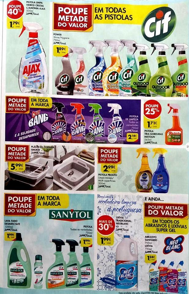 extra pingo doce higiene e limpeza 25 junho a 8 ju
