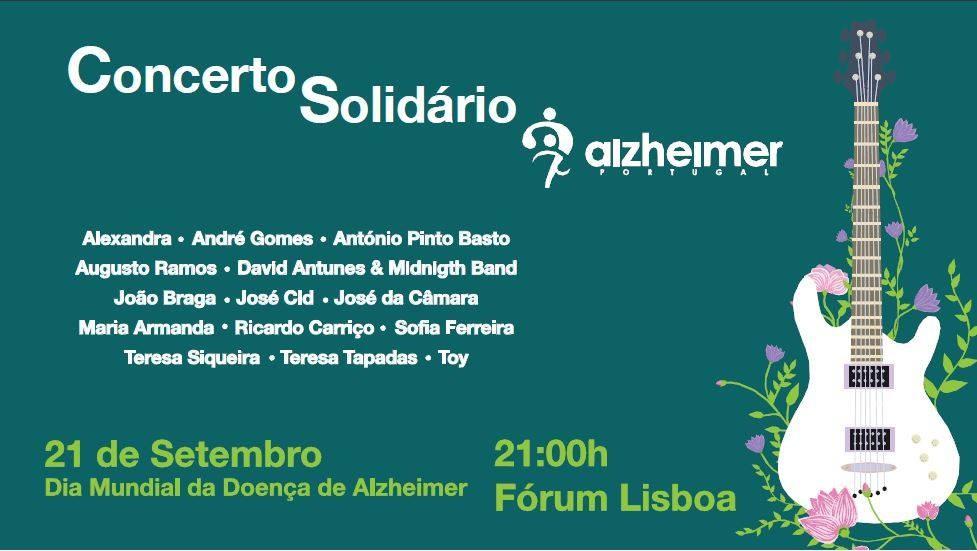 Alzheimer Portugal - Concerto Solidário 2017