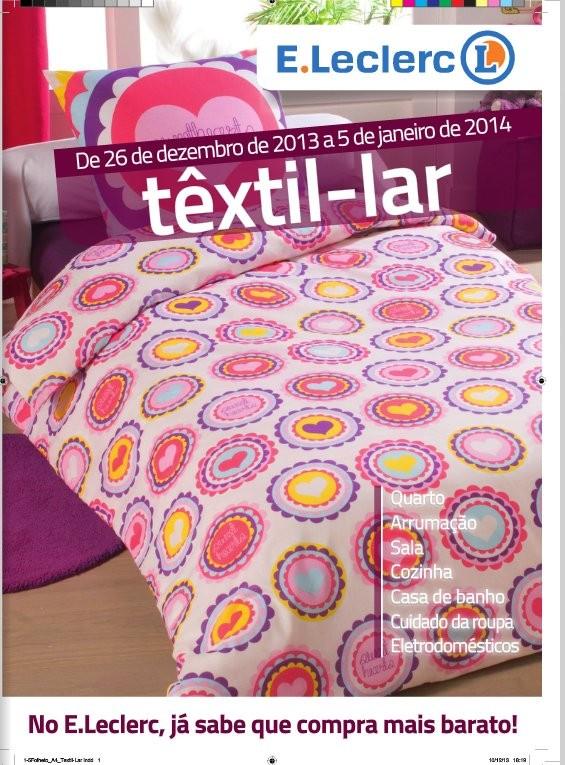 Novo Folheto | E-LECLERC | Têxtil-Lar