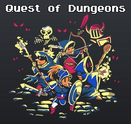 Logo de Quest of Dungeons