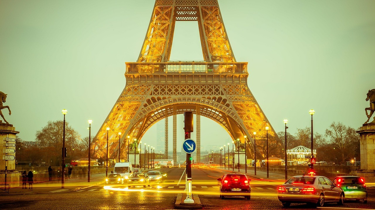 Torre Eiffel @pixabay