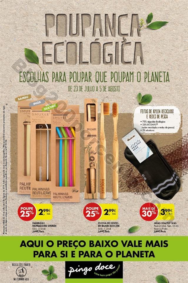 Antevisão Folheto PINGO DOCE Sustentabilidade Pro