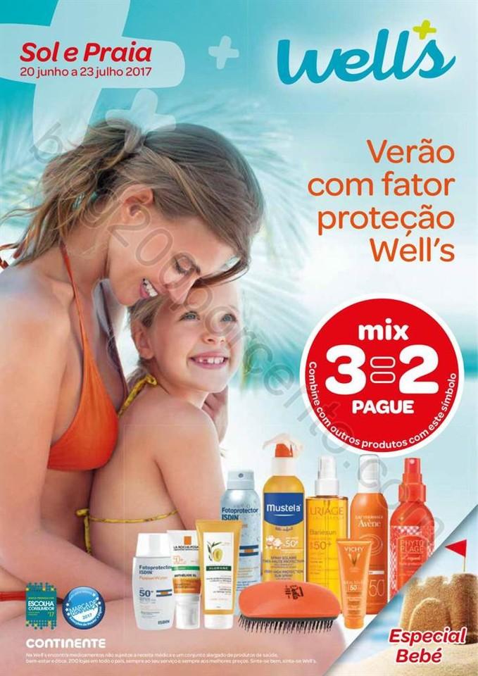 Antevisão Folheto WELLS Verão e Praia de 20 junh