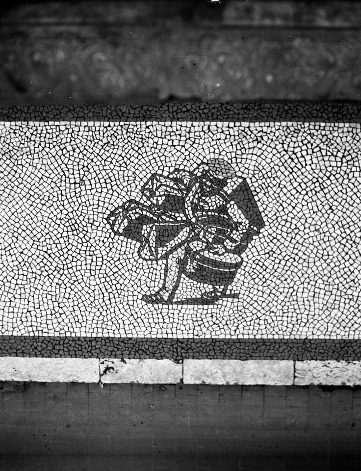 Calçada portuguesa, o Preto da Casa Africana, 194