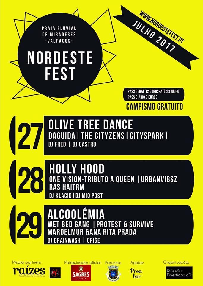 29 Julho - 2017 Alcoolémia - Nordest Fest – Val