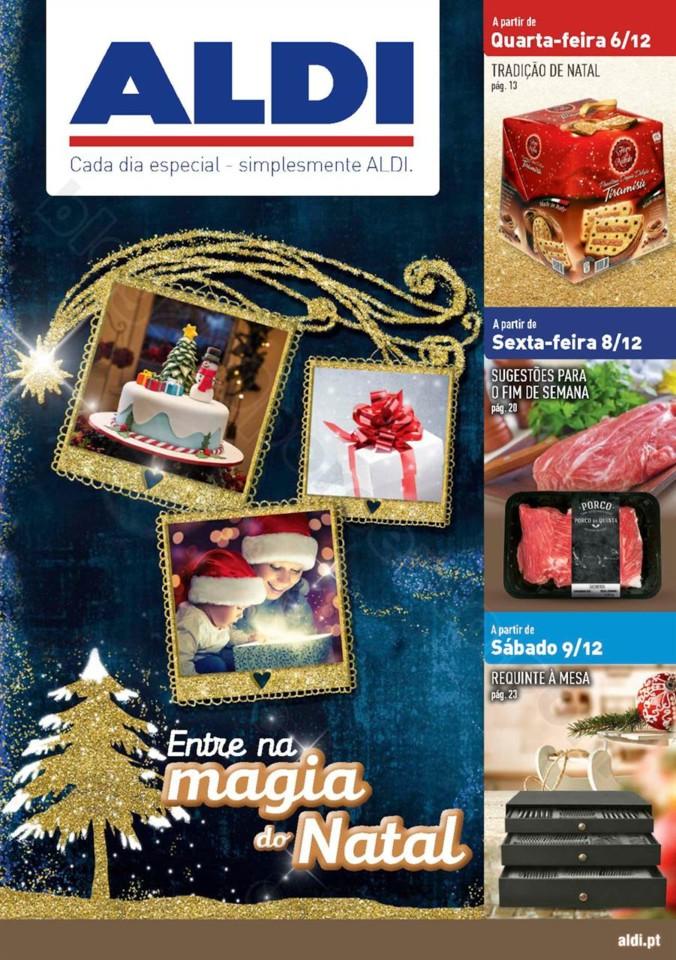 Antevisão Folheto ALDI Natal Promoções a partir