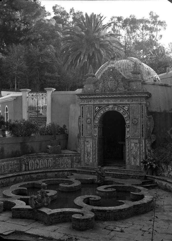 Palácio Fronteira, Jardim de Vénus, 1954, foto d