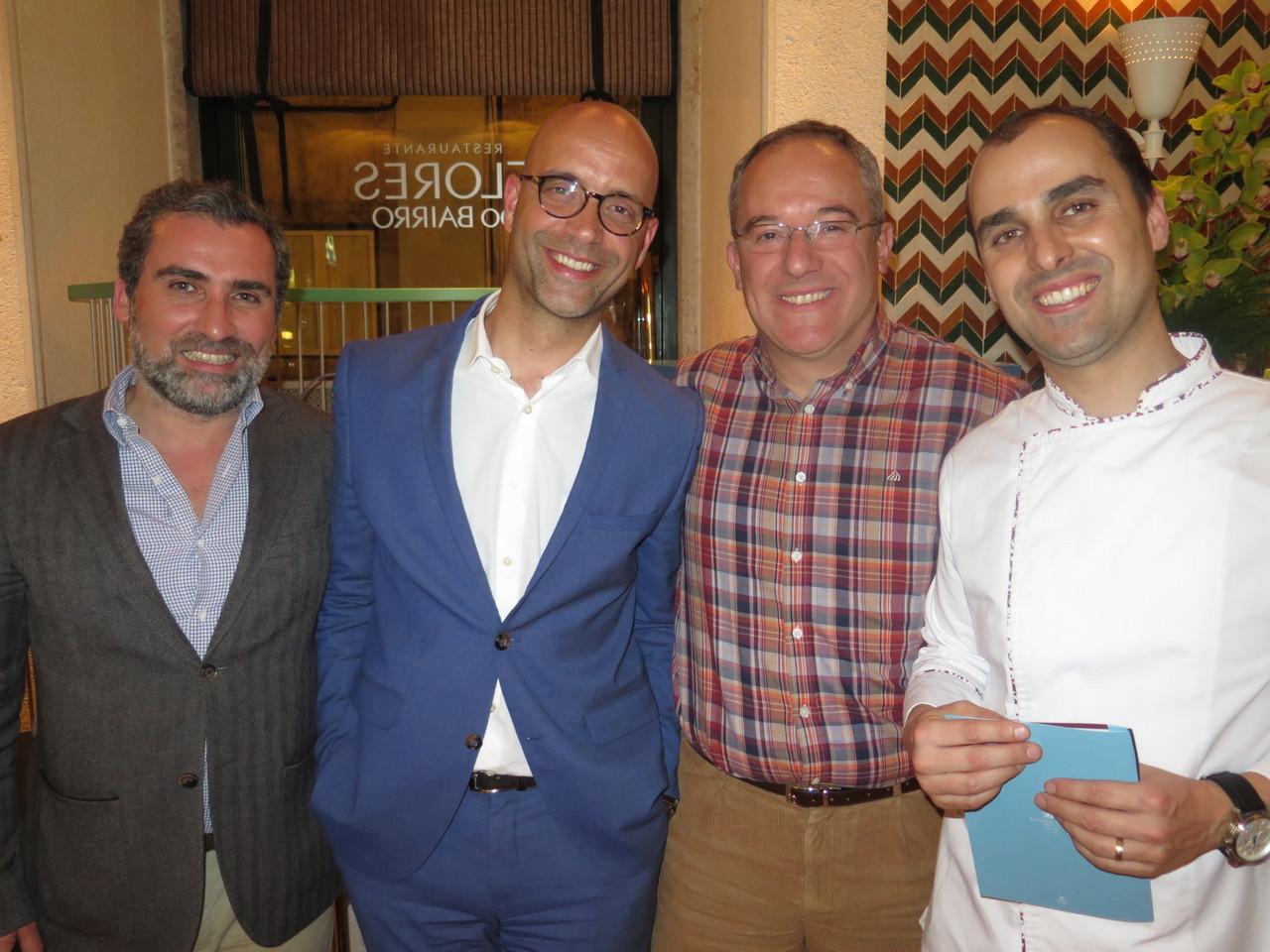 Nuno Nobre, Jorge Cosme, António Alexandre, Bruno Rocha