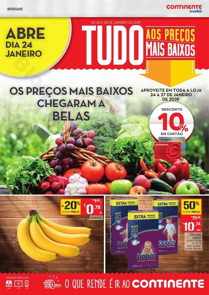 Folheto extra CONTINENTE aberturas belas 24 a 27 j