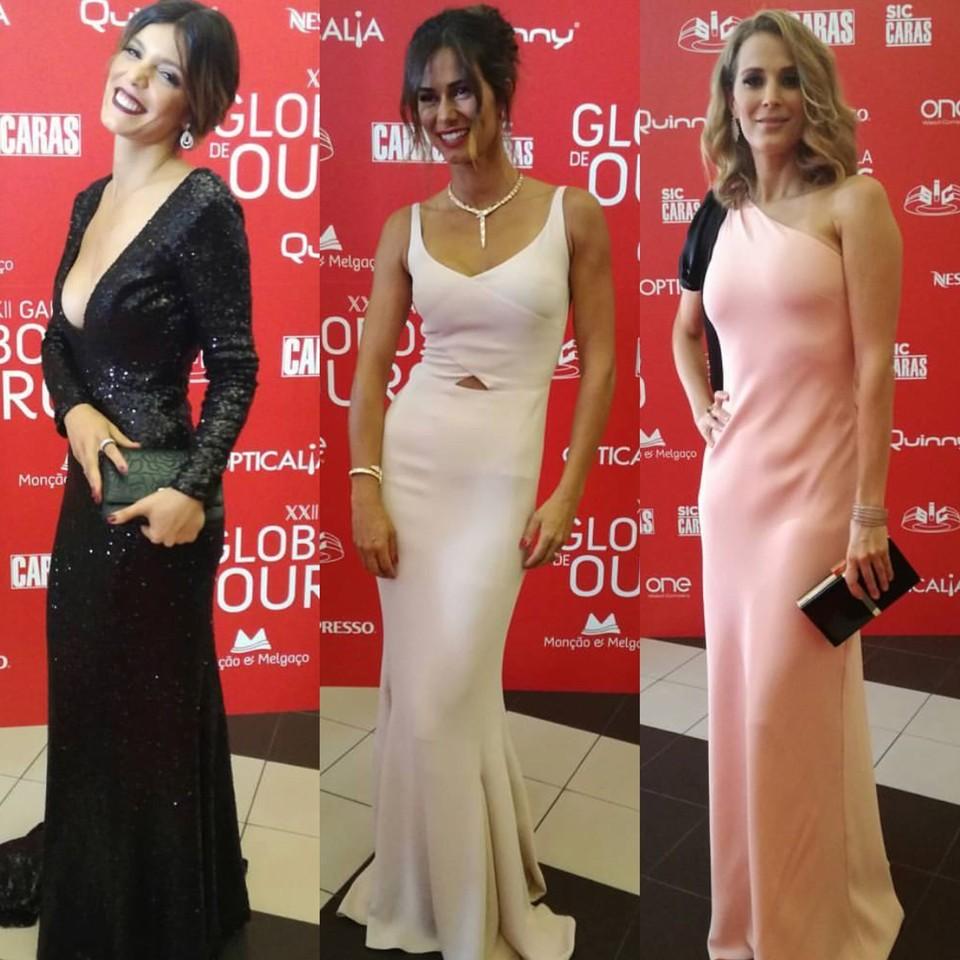 XXII Gala dos Globos de Ouro | os vestidos