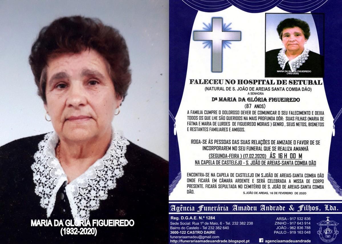 RIP-FOTO  DE MARIA DA GLÓRIA FIGUEIREDO 87 ANOS (