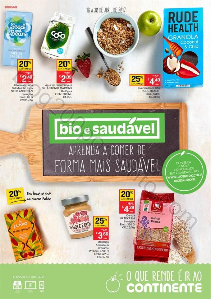 Antevisão Folheto CONTINENTE Alimentação Saudá