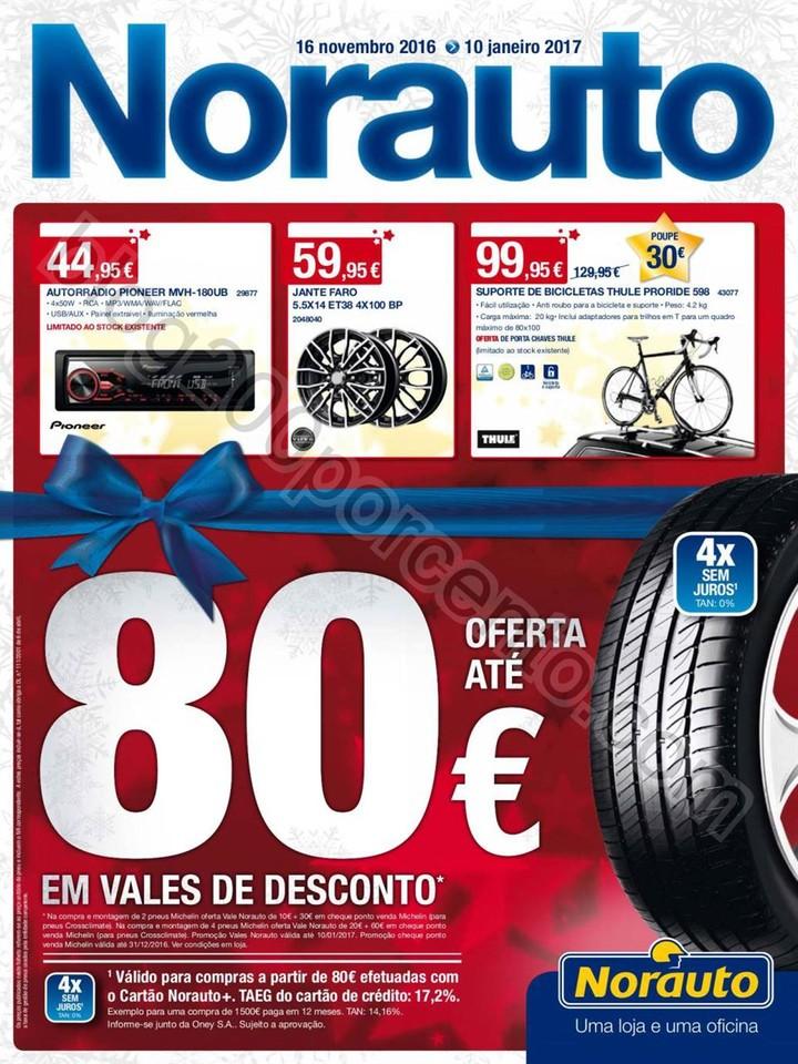 Novo Folheto NORAUTO Promoções de 16 novembro a