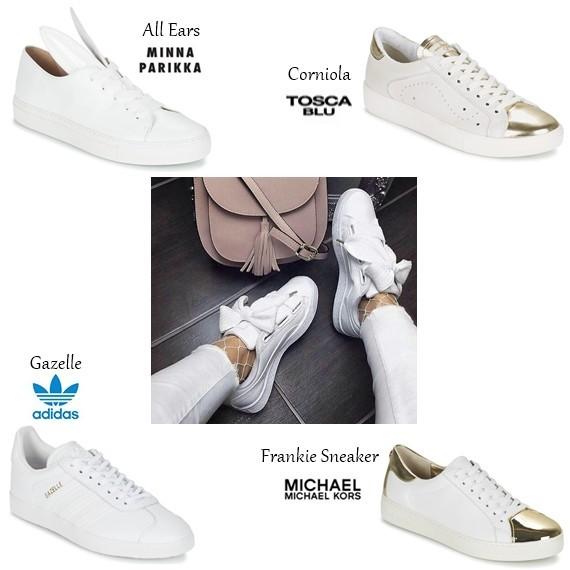 A saga das sapatilhas brancas continua - Moda & Style