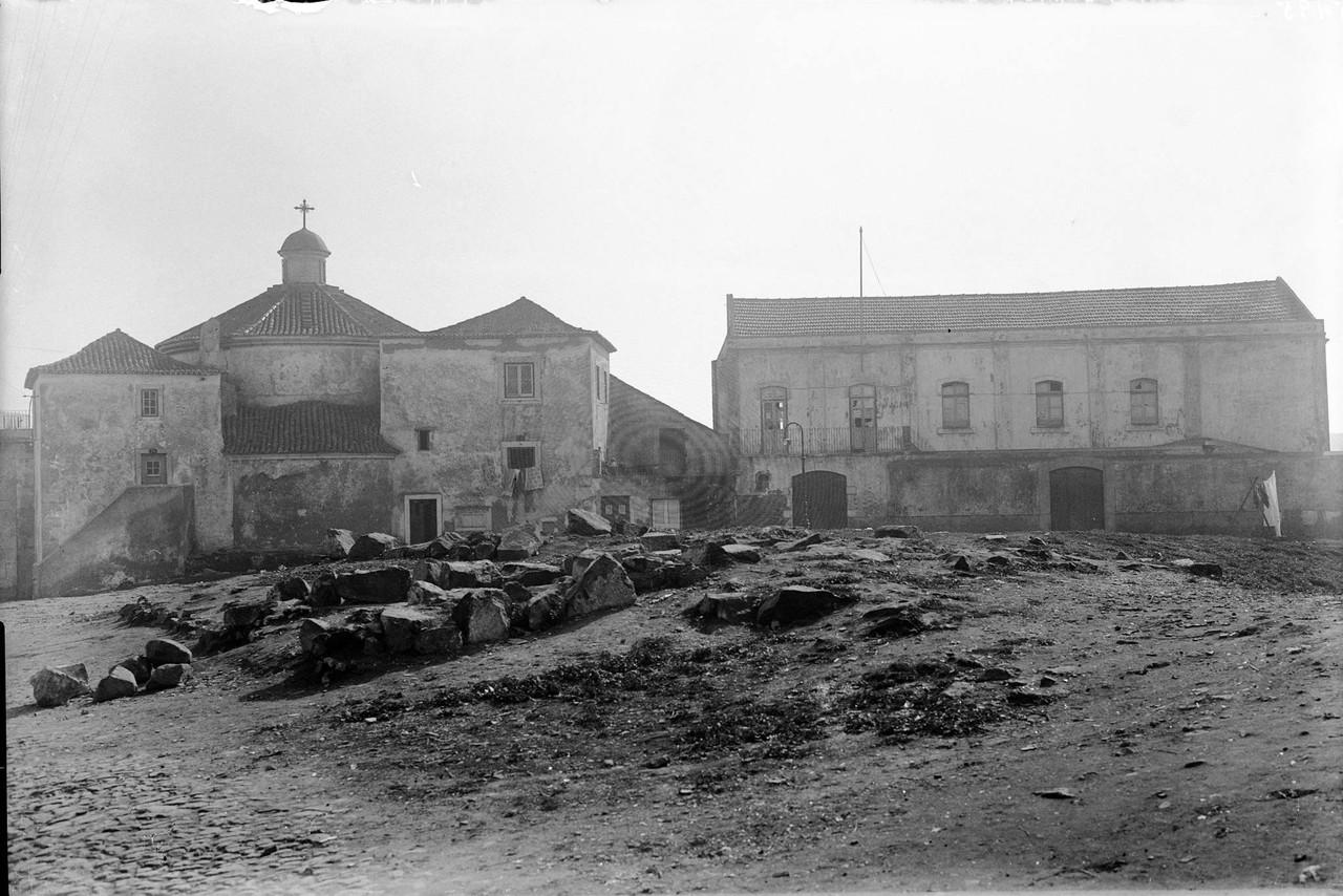 Calçada de Santo Amaro, 1944, foto de Eduardo Por