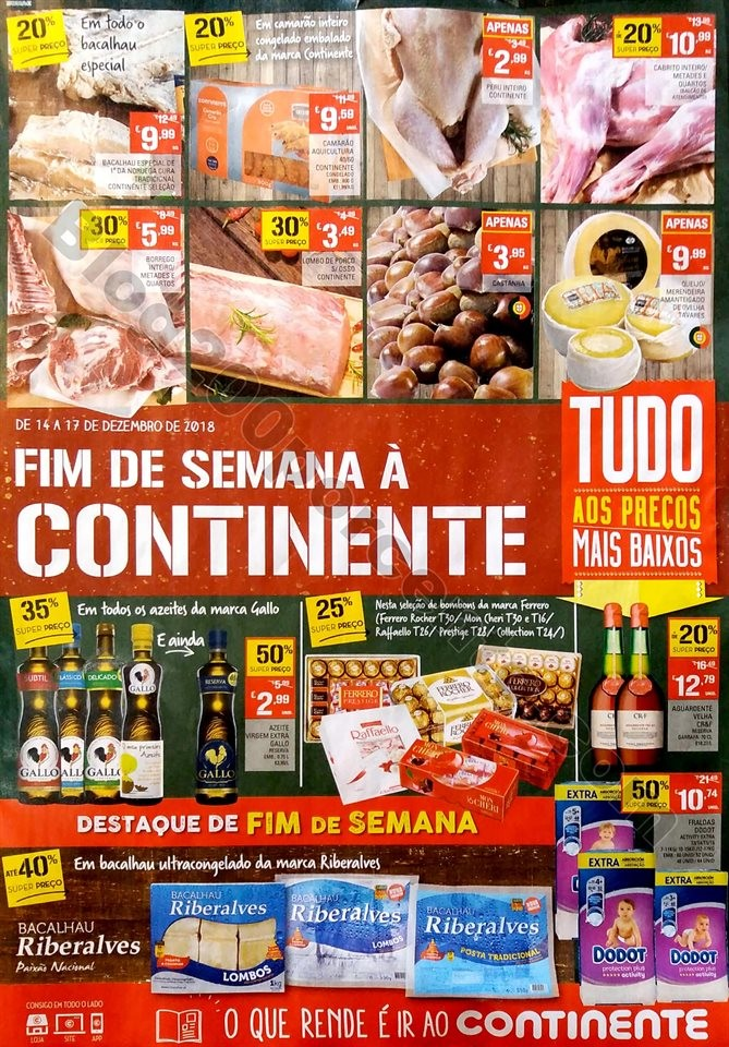 folheto continente fim de semana 14 a 17 dezembro_