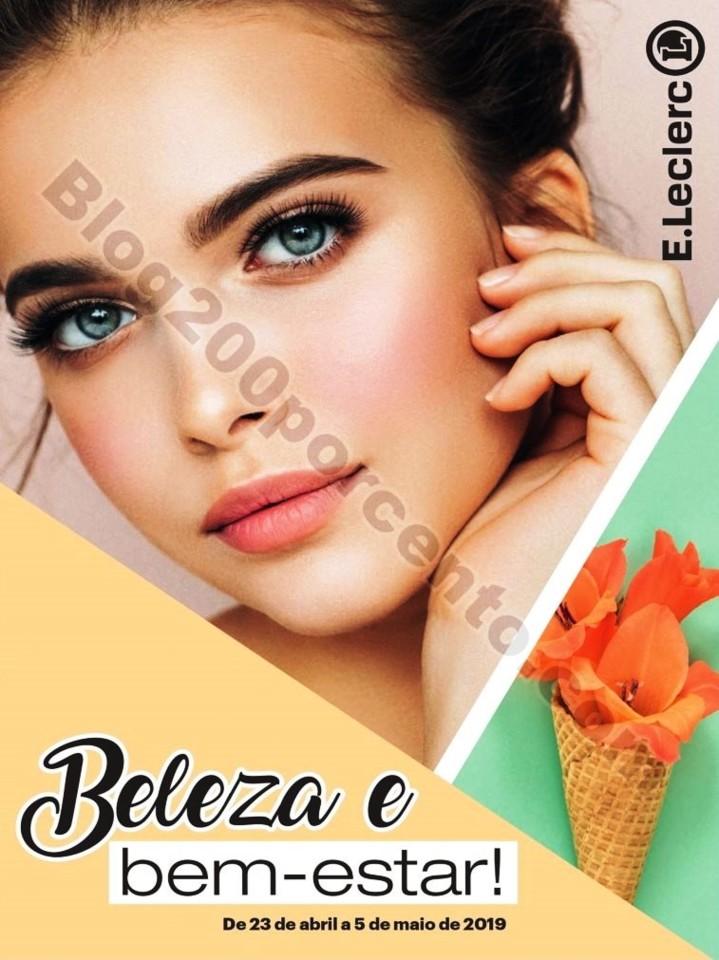 Antevisão Folheto E-LECLERC Beleza e Bem-estar pr