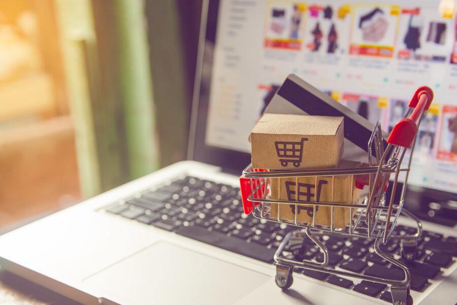 O boom das compras online