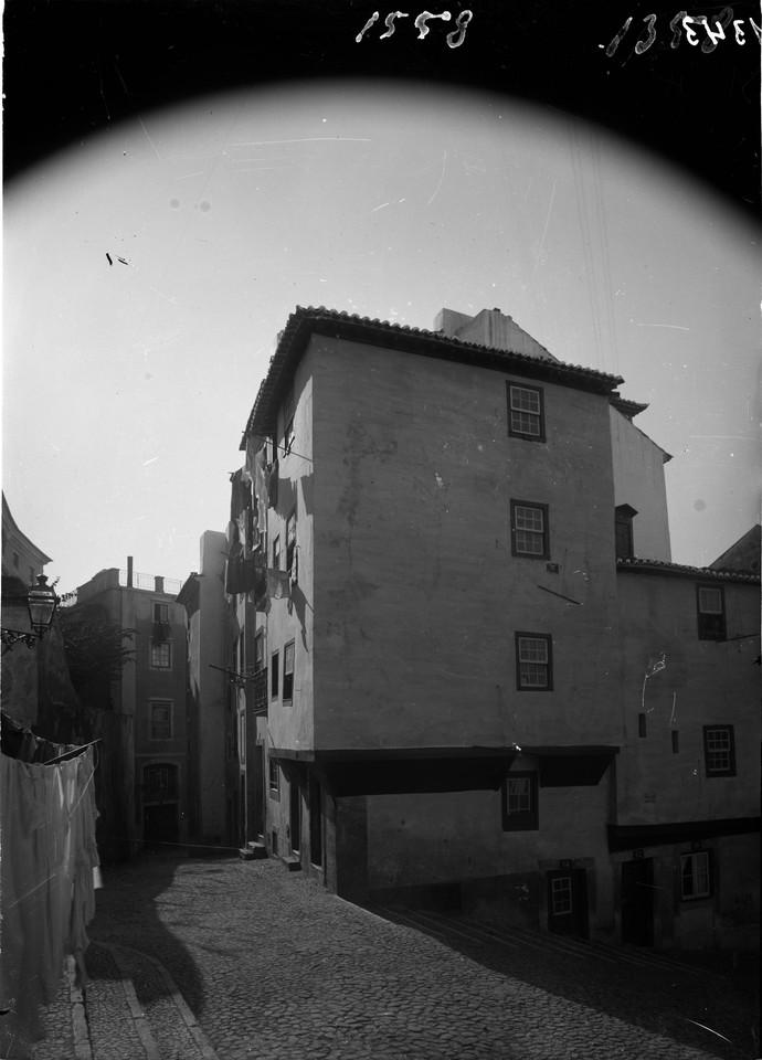 Rua da Achada, entre 1898 1908, foto de Machado &