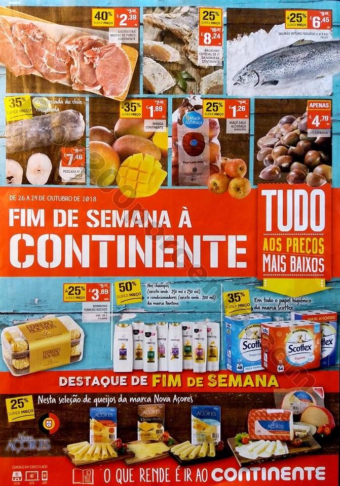 folheto 26 a 29 outubro fim de semana continente_1