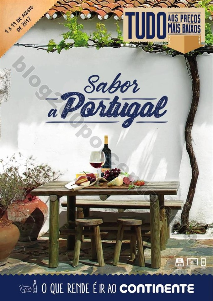 Antevisão Folheto CONTINENTE Sabor a Portugal pro