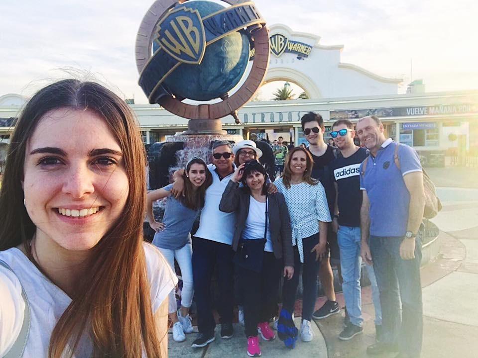 Um fim-de-semana grande em Madrid + Warner Bros
