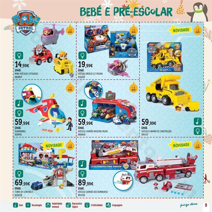 Antevisão Folheto PINGO DOCE Brinquedos Natal Pro