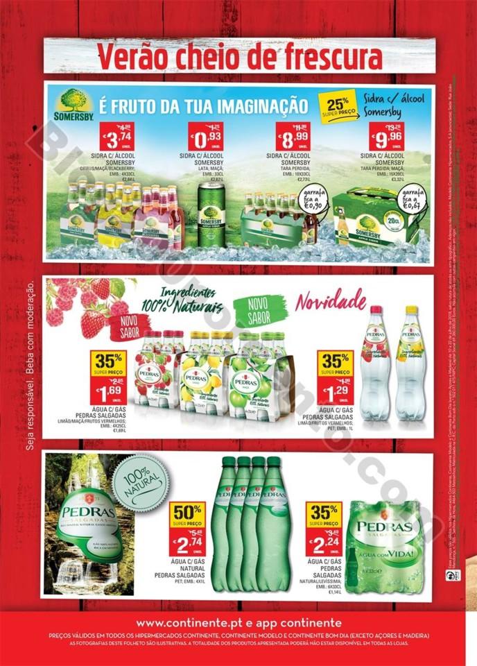 Antevisão Folheto CONTINENTE Bebidas promoções
