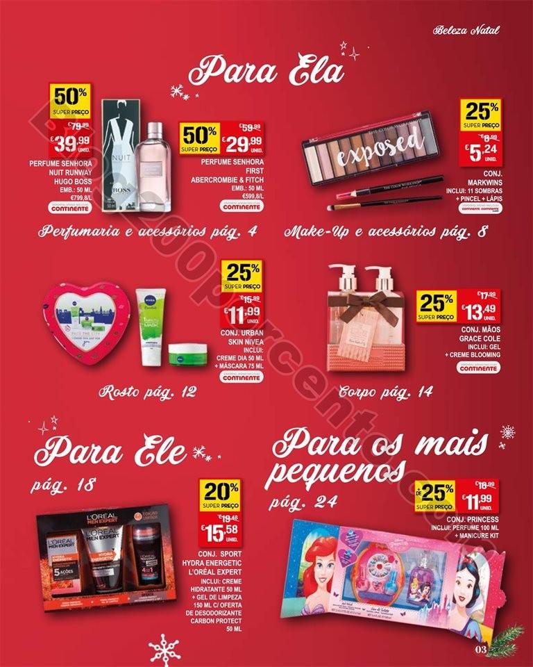 Antevisão Folheto CONTINENTE Natal Promoções de