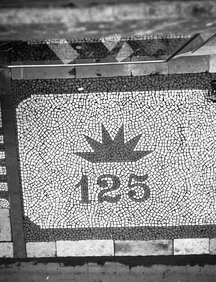 Calçada Portuguesa, Rua Augusta, 1940, foto de An