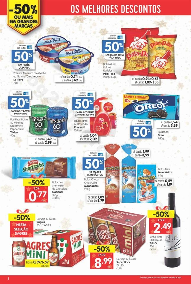 grandes marcas minipreço 28 novembro a 4 dezembro