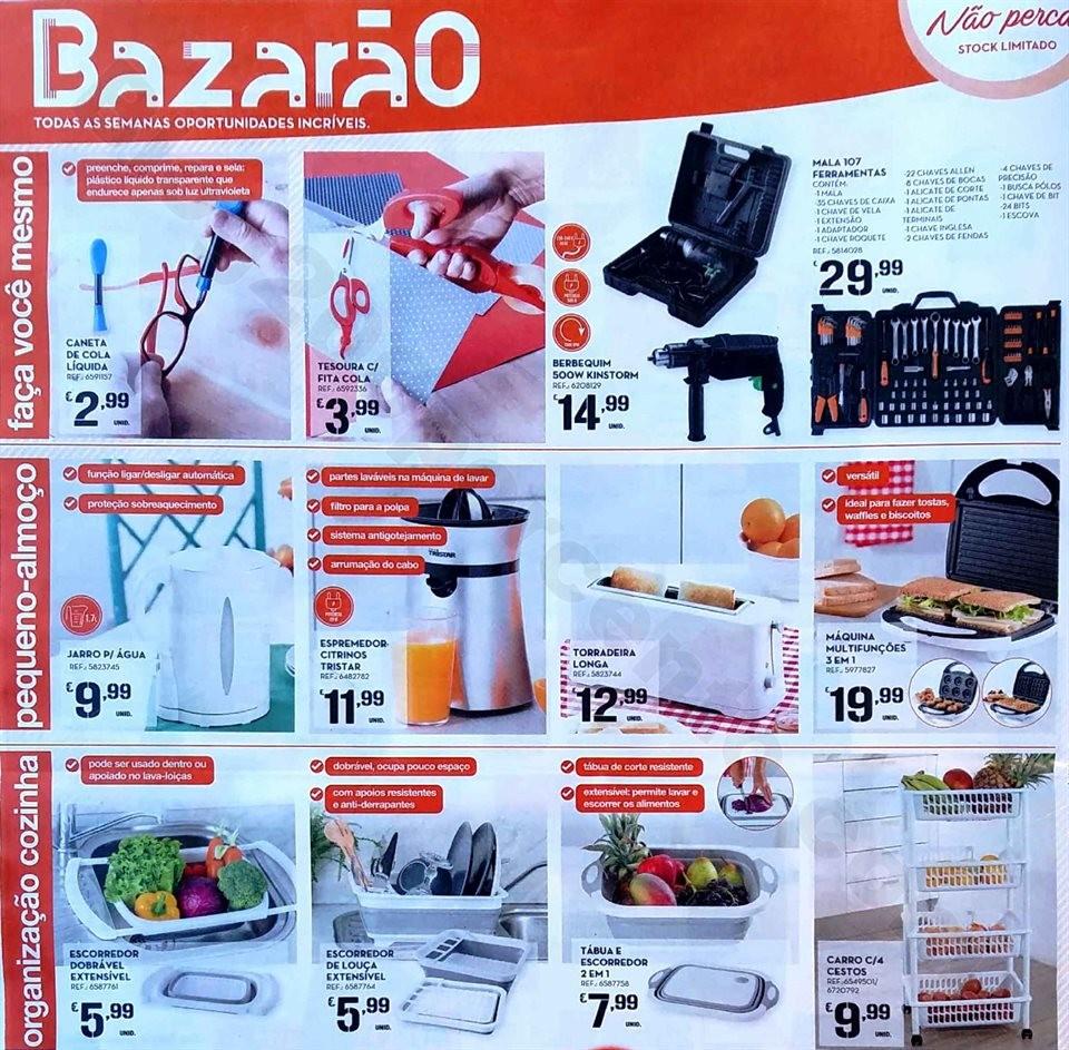 antevisão folheto promoções Continente Bazarão 15a21jan