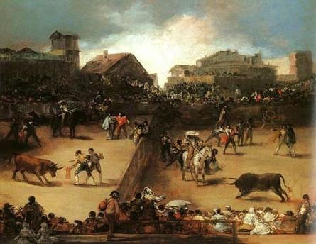 Tourada- Goya