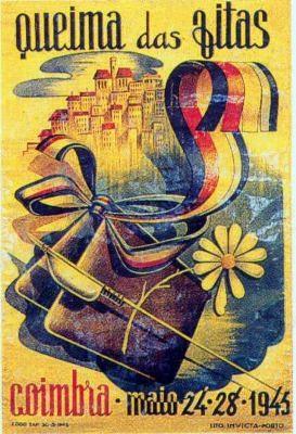 1945 - queima