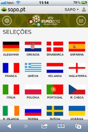 Euro 2012 - SAPO Desporto lança aplicação no SAPO, no MEO e nos telemóveis Android e IOS, para todas as redes
