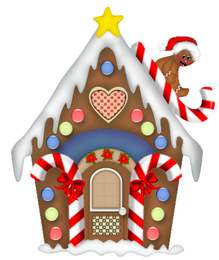 Christmas Gingerbread House - From: clipartsheep
