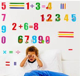 Cartoon-Arabic-numerals-Mathematics-font-b-Prescho