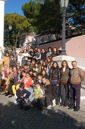 Crianças e Jovens de Avintes visitam Palácio de Belém - 2008